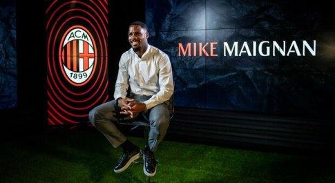 Serie A, è ufficiale: il portiere Mike Maignan firma con il Milan fino al 2026