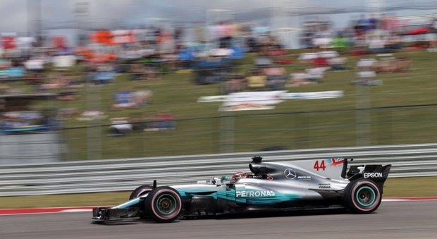 Gp di Austin, Hamilton domina le ultime prove libere: la Ferrari di Vettel è seconda