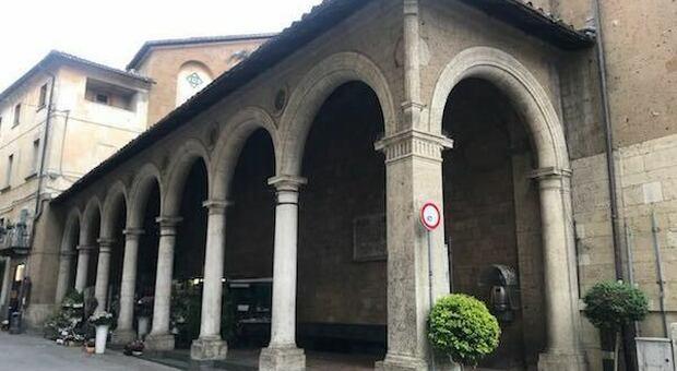 Comune e Lions insieme per il restauro del Portico di Sant'Andrea