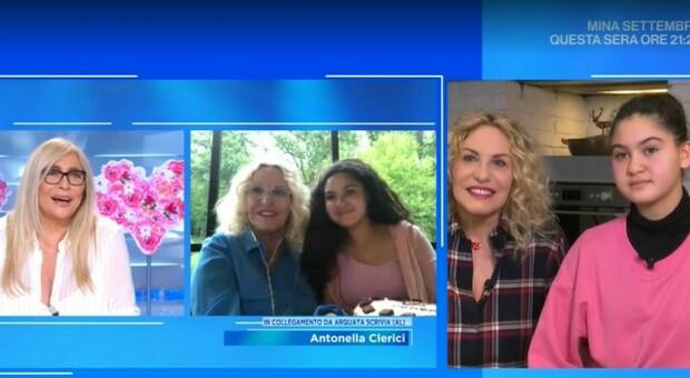 Domenica In, Antonella Clerici chef: «Ma la vera cuoca in casa è Maelle»