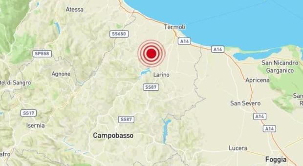 Terremoto Molise di 3.5: paura a Campobasso, Foggia e sulla costa Adriatica