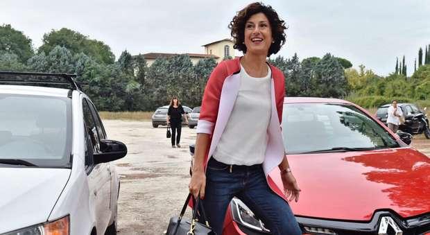 Agnese Renzi, il primo giorno di scuola da neoassunta