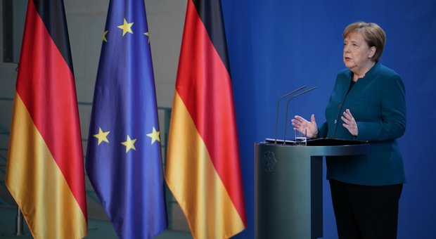 Coronavirus, Angela Merkel in quarantena