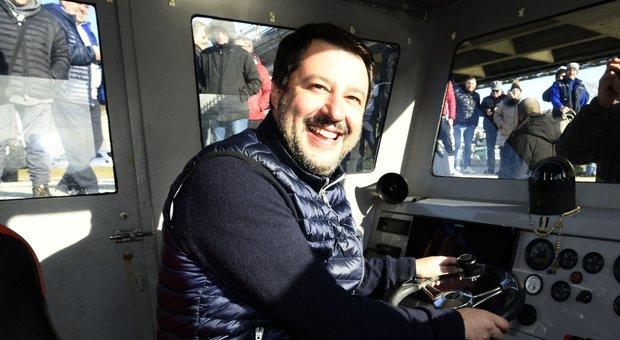 Gregoretti, la Lega manda Salvini a processo e Matteo prepara la piazza