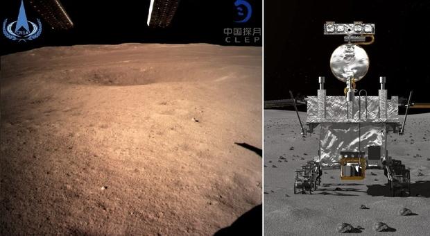 La Cina atterra sulla faccia nascosta della luna