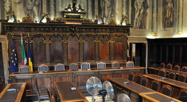La sede del consiglio comunale