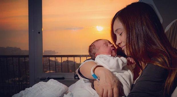 Ilenia Lazzarin è diventata mamma, la foto del piccolo Raoul su Instagram