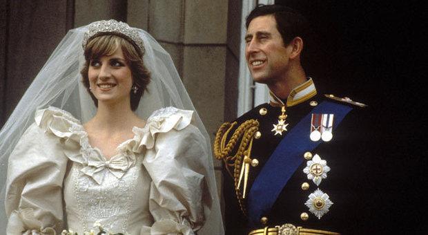 lady diana, matrimoni reali, royal wedding