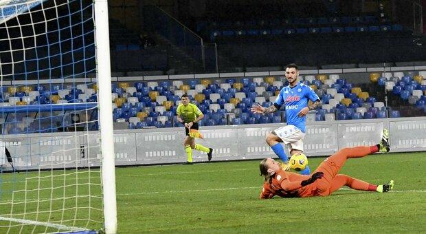 Elmas più Politano, il Napoli batte il Parma. Gattuso respira