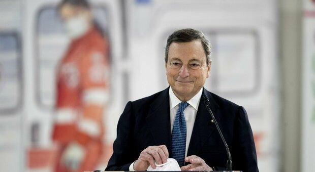 Draghi, caso AstraZeneca «Per Aifa non ci sono legami tra incidenti e vaccino»