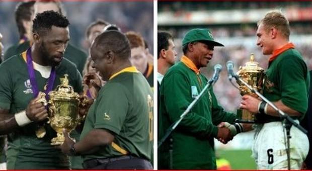 Così Invictus Mandela 25 anni fa costruì il Sud Africa arcobaleno con una partita di rugby Dal boero Pienaar al nero Kolisi