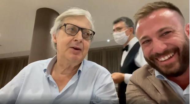 Sgarbi e il sindaco di Giulianova parlano di sesso: video choc. «Offende le donne, spot sessista»