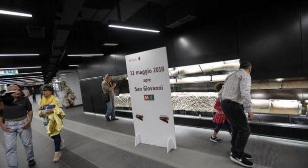 Roma Metro C a San Giovanni, oggi apre la nuova tratta