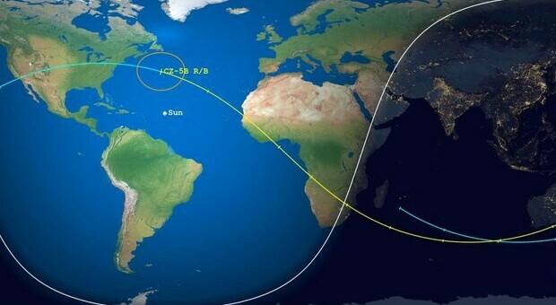 Spazio, in caduta libera verso la Terra il razzo cinese: quali sono i rischi?