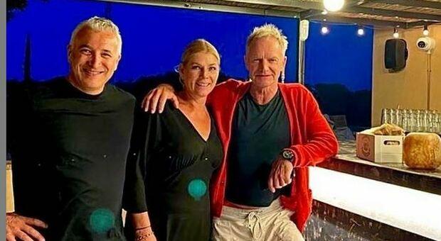 Sting apre una pizzeria in Toscana, l'annuncio su Instagram