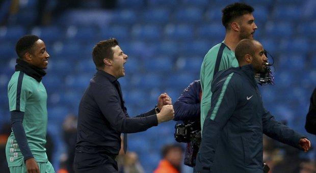 Champions, show a Manchester: vince il City, ma si qualifica il Tottenham. In semifinale lo aspetta l'Ajax