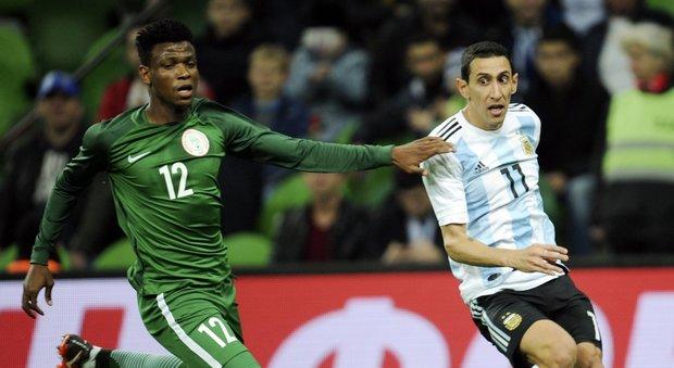 Argentina battuta 4-2 dalla Nigeria