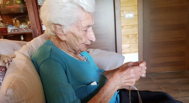 Nonna Peppina, Peppina, la nonna che meritò un decreto: «Mai smettere di sperare, anche a 97 anni»