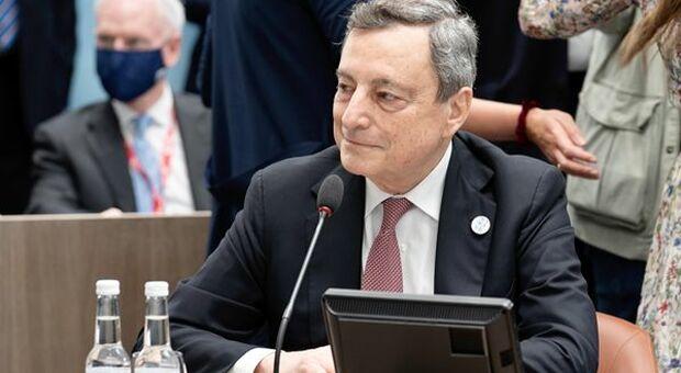 """G7, Draghi presenta la strategia per la ripresa: """"Politiche espansive e coesione sociale"""""""