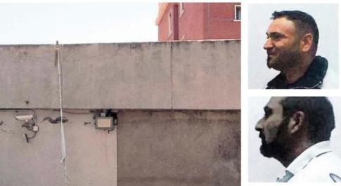 Rebibbia, evasione da film con il tubo anti-incendio: i detenuti hanno segato le sbarre