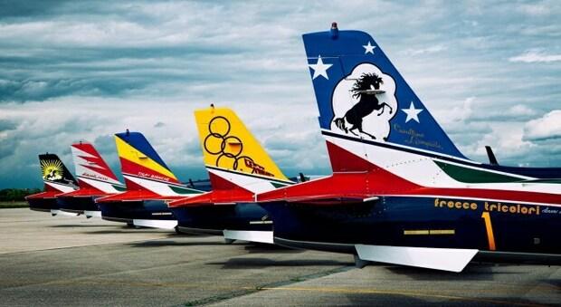 Frecce Tricolori con le nuove livree: in volo nella storia della Pattuglia acrobatica. Il calendario degli air show