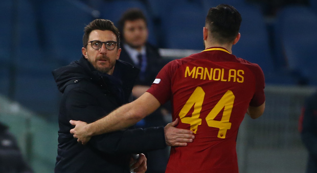 Roma, Di Francesco: «Con lo Shakhtar dovremo giocare in dodici»