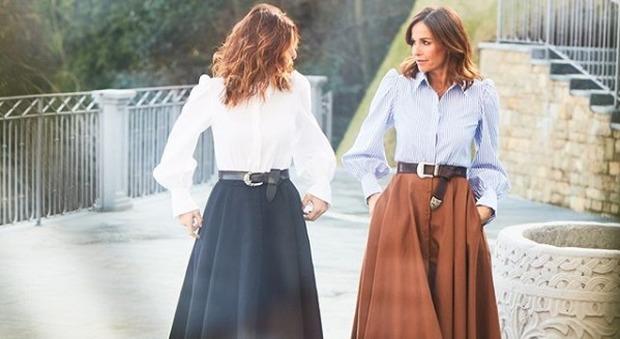 Cristina Parodi diventa stilista, la collezione Crida insieme all'amica di sempre: «Un gesto d'amore per l'Italia»