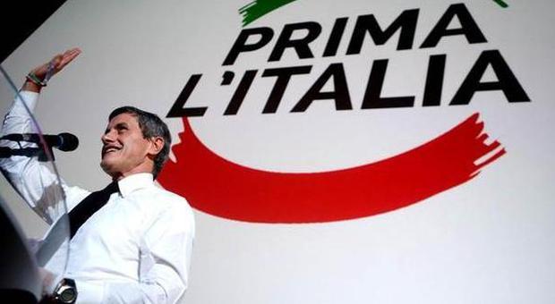 Gianni Alemanno presenta il suo movimento Prima l'Italia