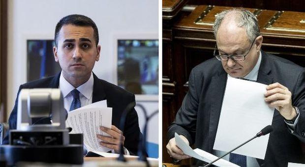 Sace, braccio di ferro tra Gualtieri e Di Maio, poi tregua Tesoro-M5S: scambio da 50 miliardi