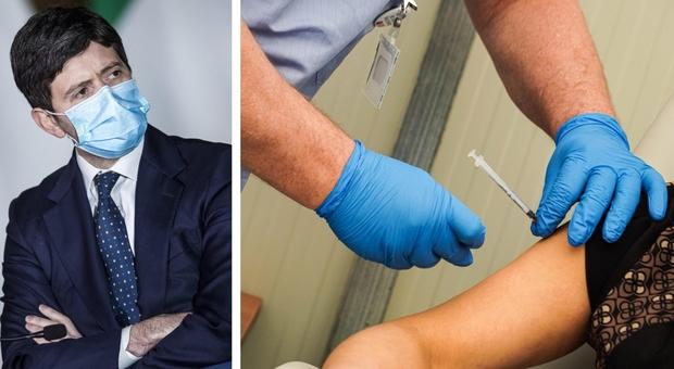 Astrazeneca, Speranza: «La campagna vaccini va avanti, gli eventi non incrinano la fiducia»