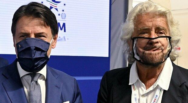 M5S, pronto ruolo ad hoc per Giuseppe Conte. Lungo vertice a Roma con Beppe Grillo