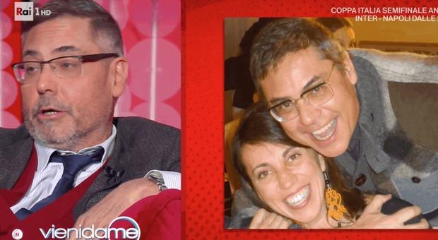 Andrea Vianello da Caterina Balivo: «Dopo l'ictus ero morto». Poi arriva la moglie e si commuove