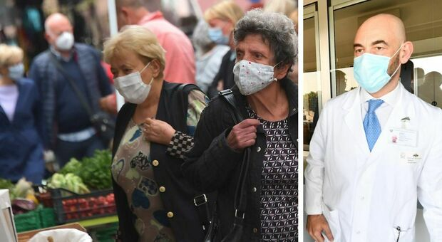 Covid, Bassetti: «Obbligo mascherina ovunque è sbagliato. Così ripetiamo l'errore del lockdown generalizzato»