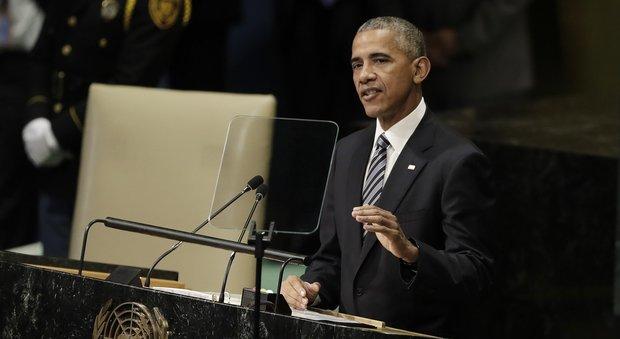 Obama all'Onu attacca Putin: «Cerca gloria con la forza»