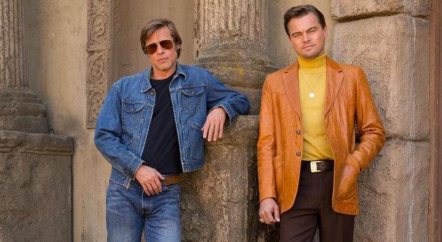 Brad Pitt e Leonardo DiCaprio nel film di Tarantino