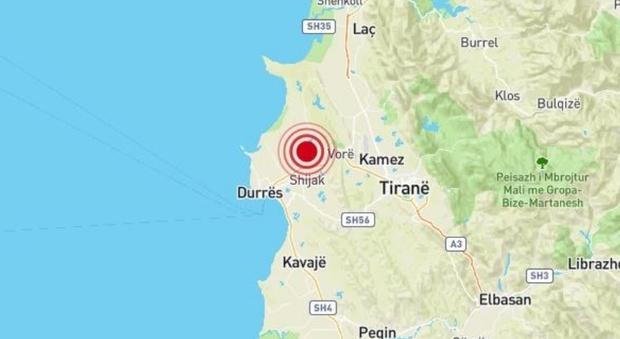Terremoto in Albania di 4.7, avvertito sulla costa pugliese: torna la paura tra la gente
