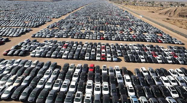 Le auto in stock