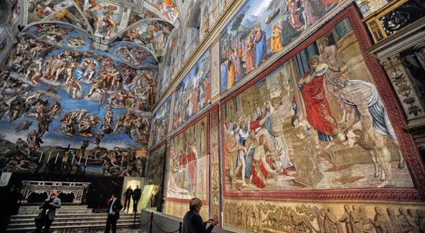 Gli Arazzi di Raffaello alla Cappella Sistina: esposto il ciclo completo dei 10 capolavori