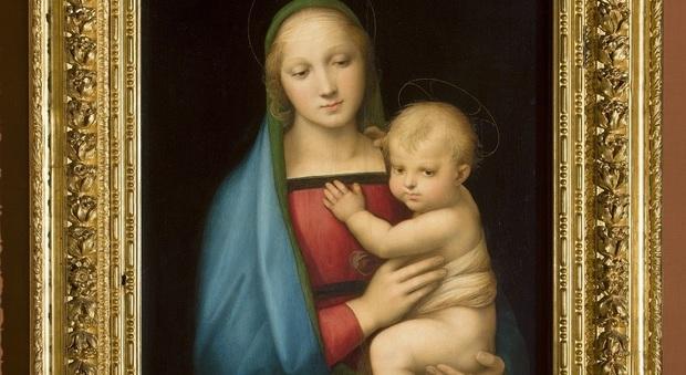 Madonna del Granduca, Raffaello, Galleria degli Uffizi