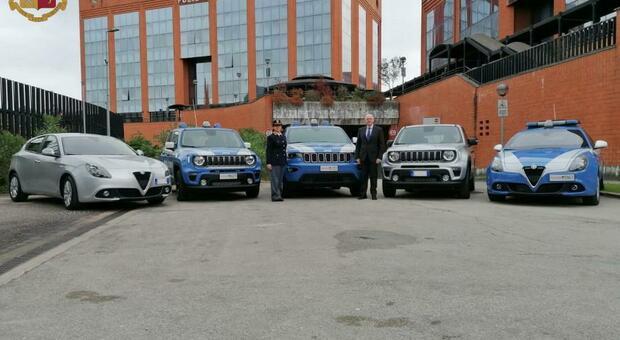 Sicurezza in Ciociaria, nuove auto per la polizia a Sora, Cassino e Fiuggi