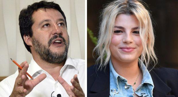 Salvini, pace con Emma Marrone: «Rispetto per la sofferenza, le manderò dei fiori»