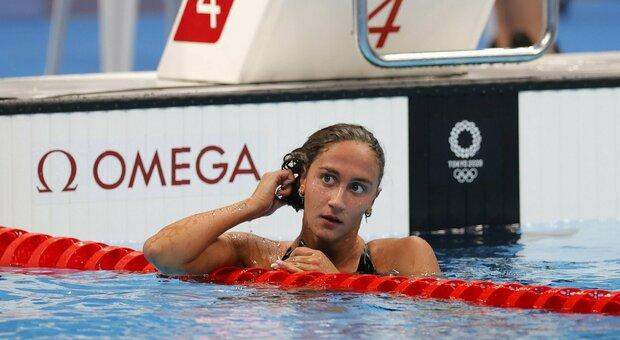 Simona Quadarella in lacrime: «Stanca e sfortunata, ci ho provato»