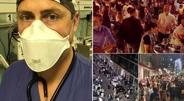 Movida a Milano, l'anestesista: «Non voglio rivivere gli ultimi tre mesi per colpa dei cretini»