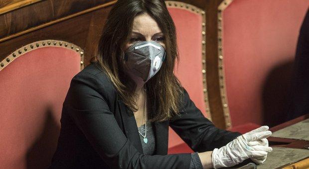 Lucia Borgonzoni in Senato