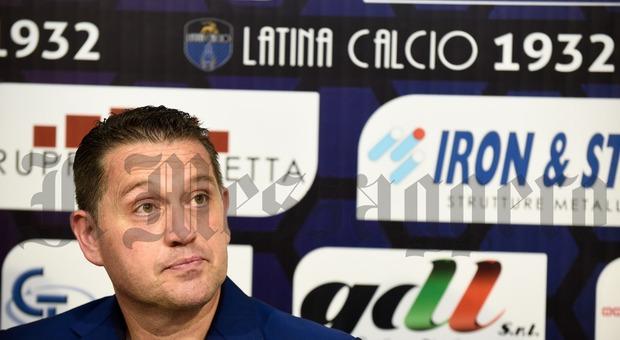Scudieri, allenatore del Latina