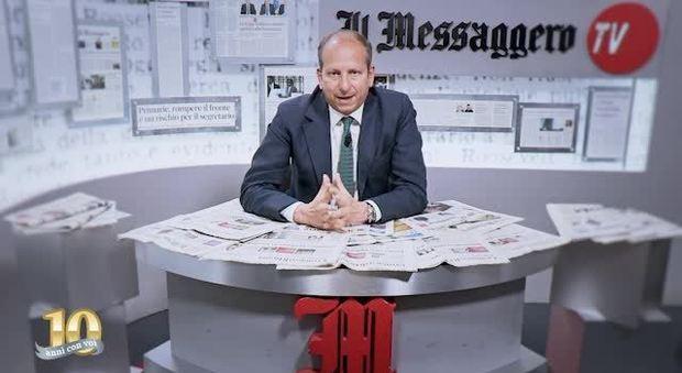 Il direttore Cusenza: «Le notizie in diretta, ma con autorevolezza»