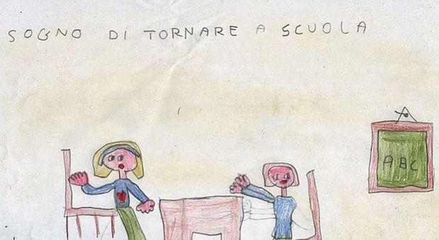 Il disegno di un bambino