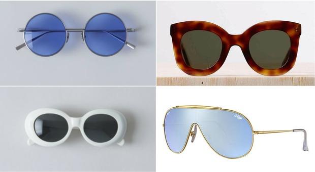 codice promozionale 2c4a7 8c0cf Bianchi anni '50 o Ray-Ban anni '80: gli occhiali da sole ...