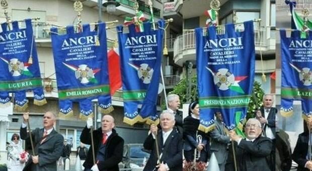 Franco Gabrielli e Riccardo Muti alla giornata della Bandiera Italiana