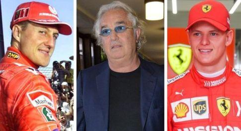 Flavio Briatore boccia Mick Schumacher: «Non è al livello di papà Michael»